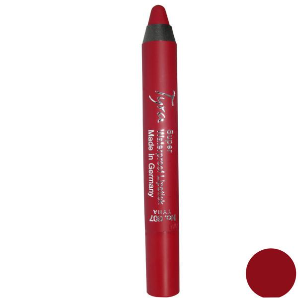 رژلب مدادی ضد آب تایرا  شماره 607