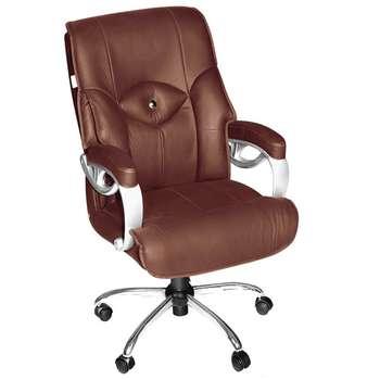 صندلی اداری نوین سیستم مدل 3010 چرمی