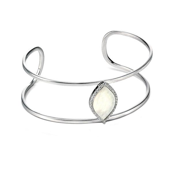 دستبند نقره فیورلی مدل B4651W