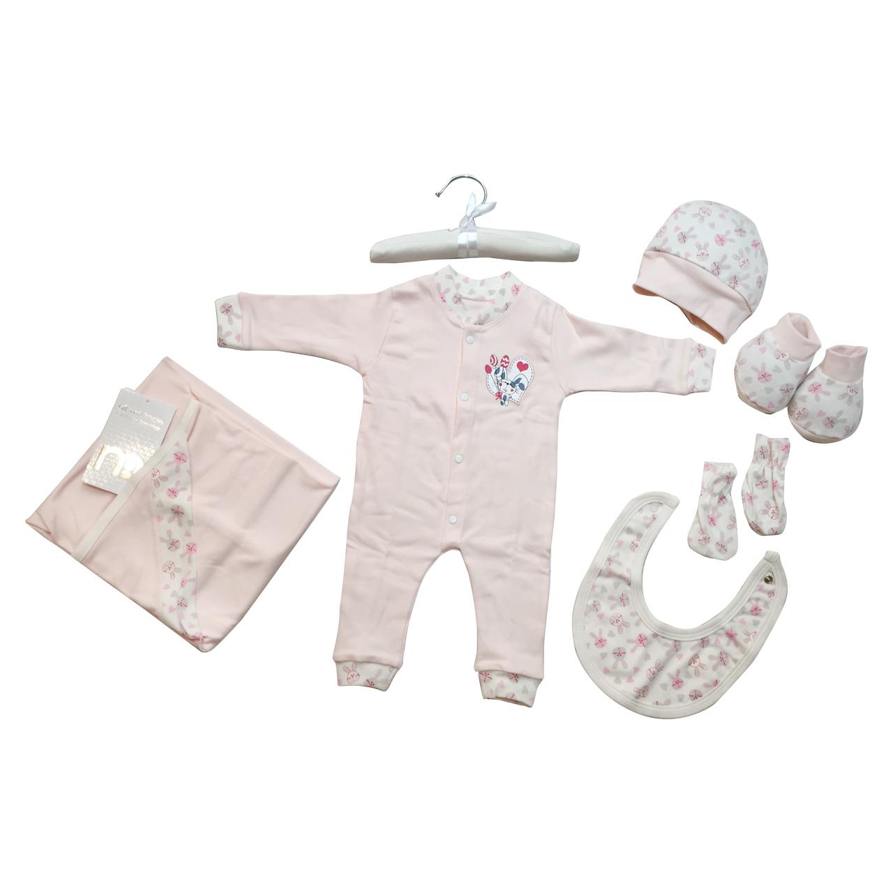 ست لباس نوزادی مادرکر Mothercare مدل RABBIT