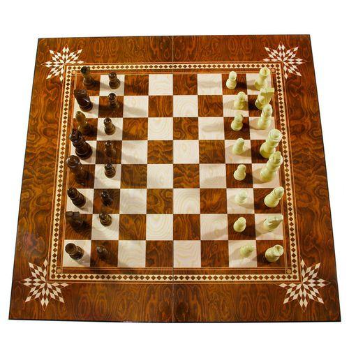 صفحه شطرنج و تخته نرد مدل سرو طرح 612