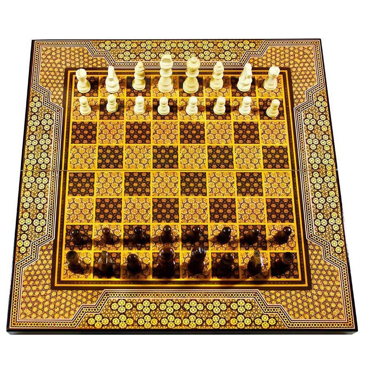 صفحه شطرنج مدل خاتم طرح 613
