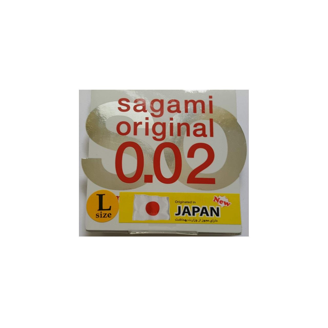 قیمت کاندوم ساگامی مدل Polyurethane بسته یک  عددی لارج