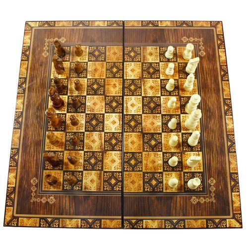 صفحه شطرنج و تخته نرد مدل فرش طرح 614