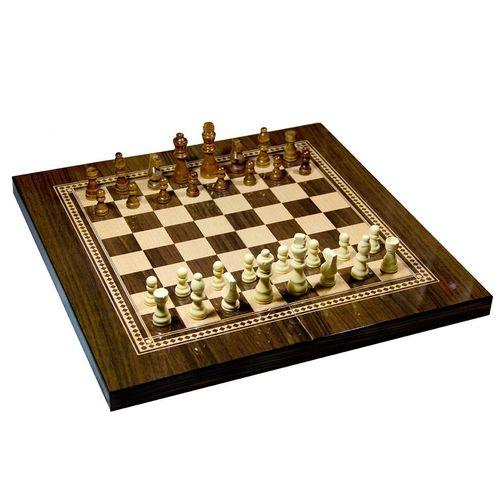 صفحه شطرنج و تخته نرد مدل گردو طرح 616