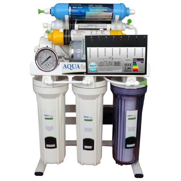 تصفیه آب خانگی آکوآاسپرینگ مدل RO-BRAIN-S151