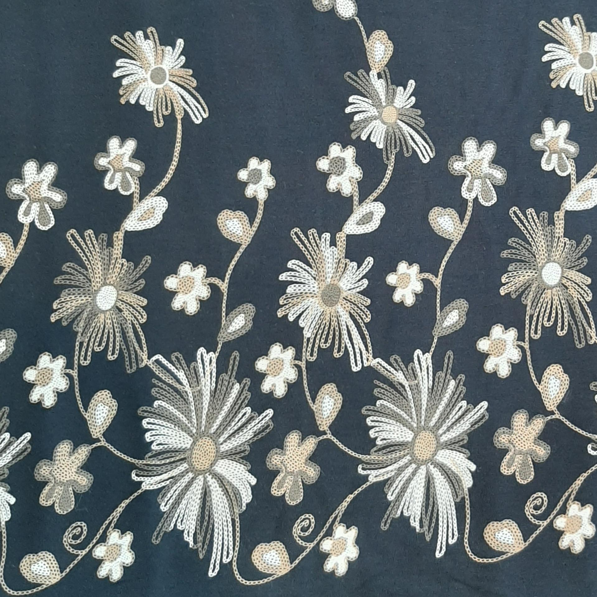 خرید                      پارچه لباس طرح گل کد ۲۹