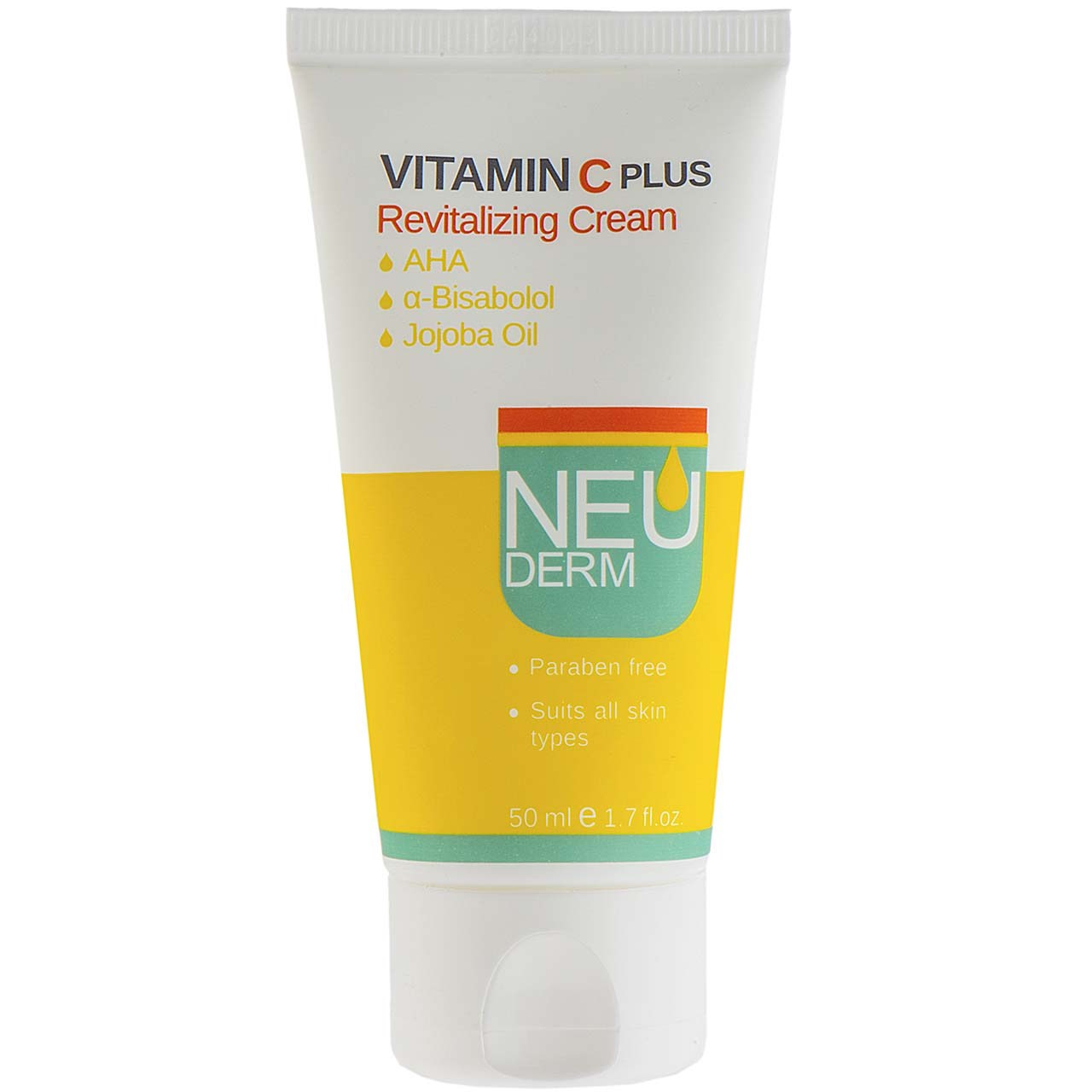 قیمت کرم روشن کننده نئودرم مدل Vitamin C Plus حجم 50 میلی لیتر