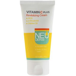 کرم روشن کننده نئودرم مدل Vitamin C Plus حجم 50 میلی لیتر