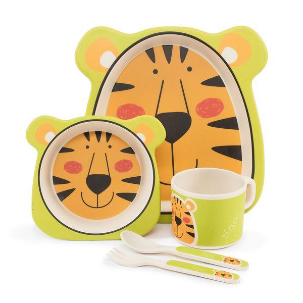 ظرف غذای کودک بامبو مدل ببر BDS5045