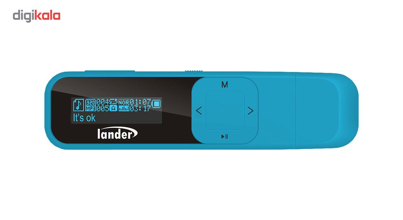 پخش کننده موسیقی لندر مدل LD-31- ظرفیت 8 گیگابایت main 1 2
