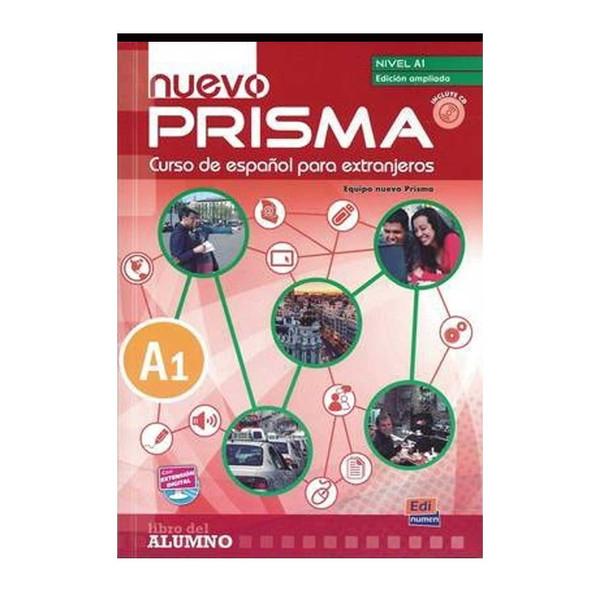 کتاب زبان اسپانیایی Nuevo Prisma A1 اثر مولفان نشر پندارقلم دو جلدی