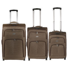 مجموعه سه عددی چمدان تاپ یورو مدل 01