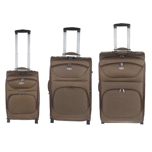 مجموعه سه عددی چمدان تاپ یورو مدل 02