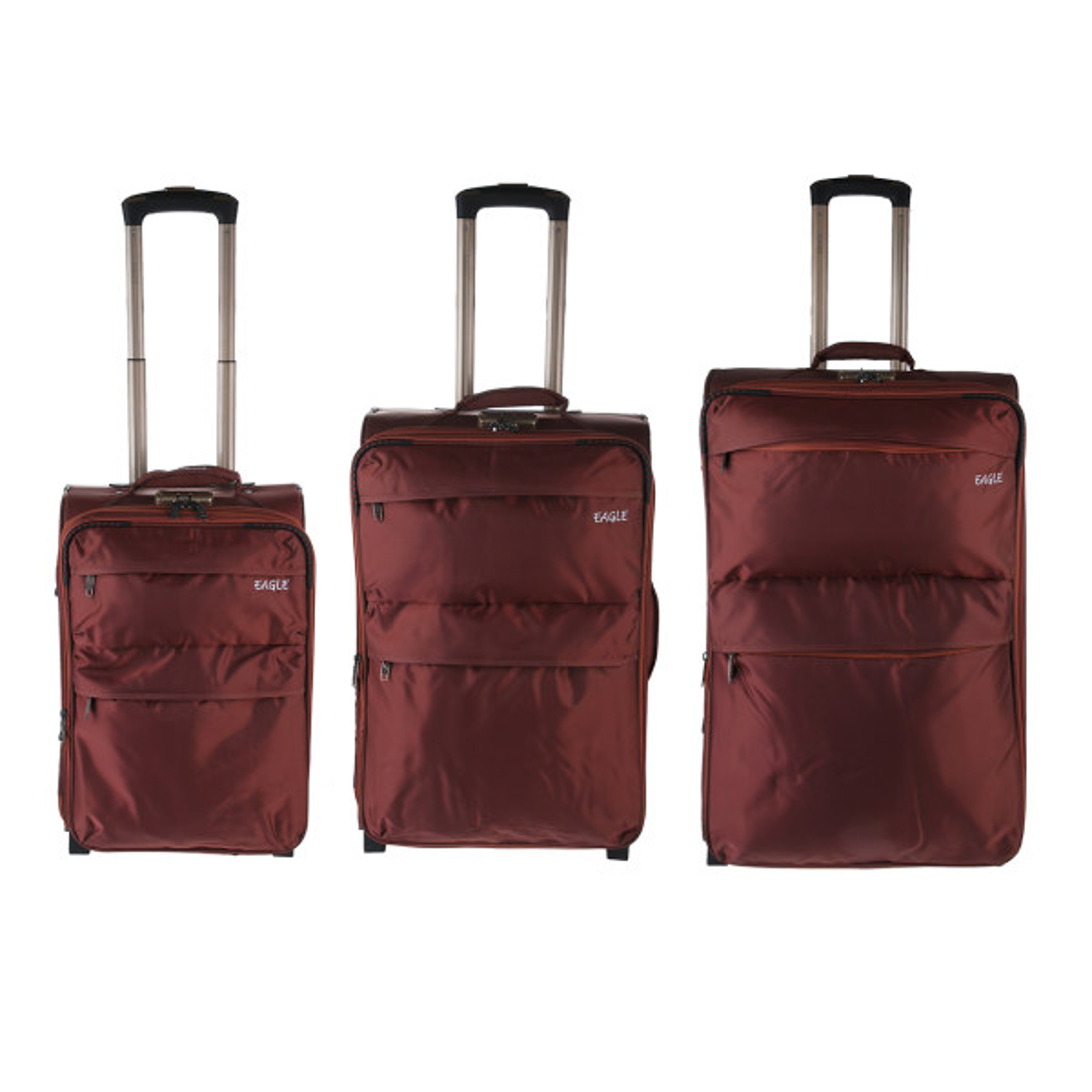 مجموعه سه عددی چمدان ایگل مدل 01