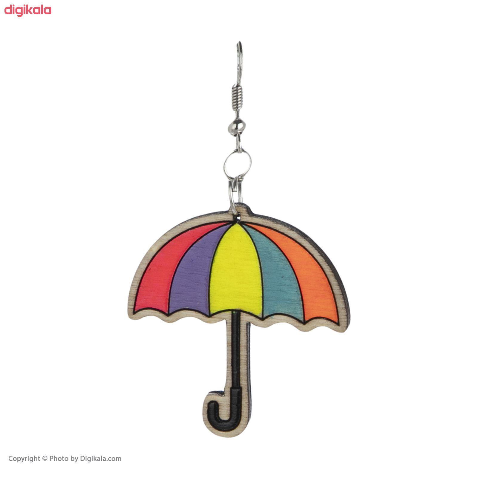 گوشواره زنانه مدل چتر و باران کد 012 main 1 1