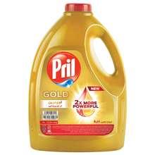 مایع ظرفشویی پریل طلایی وزن 3750 گرم