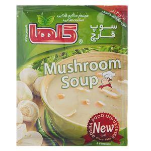 سوپ قارچ گلها مقدار 70 گرم