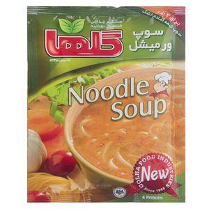 سوپ ورمیشل گلها مقدار 70 گرم