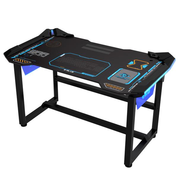میز درخشان مخصوص بازی ای-بلو مدل Wireless Glowing EGT536BKAA-IA