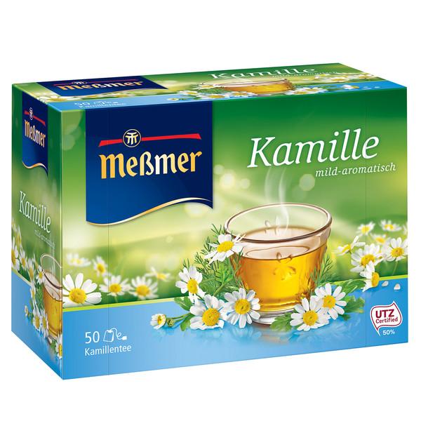 دمنوش آلمانی بابونه مسمر مدل Kamille بسته 50 عددی