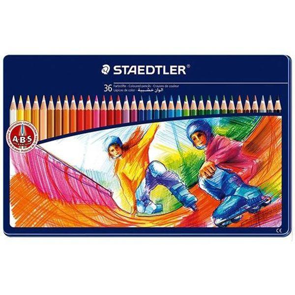 مداد رنگی 36 رنگ استدلر مدل NORIS CLUB