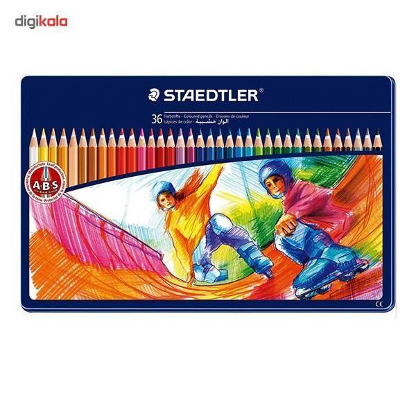 مداد رنگی 36 رنگ استدلر مدل NORIS CLUB main 1 1