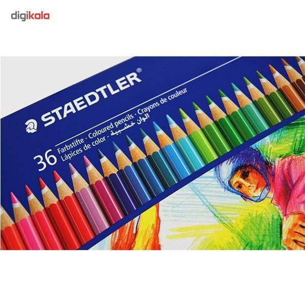 مداد رنگی 36 رنگ استدلر مدل NORIS CLUB main 1 2