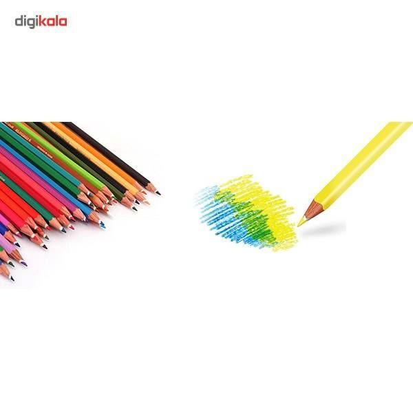 مداد رنگی 36 رنگ استدلر مدل NORIS CLUB main 1 3