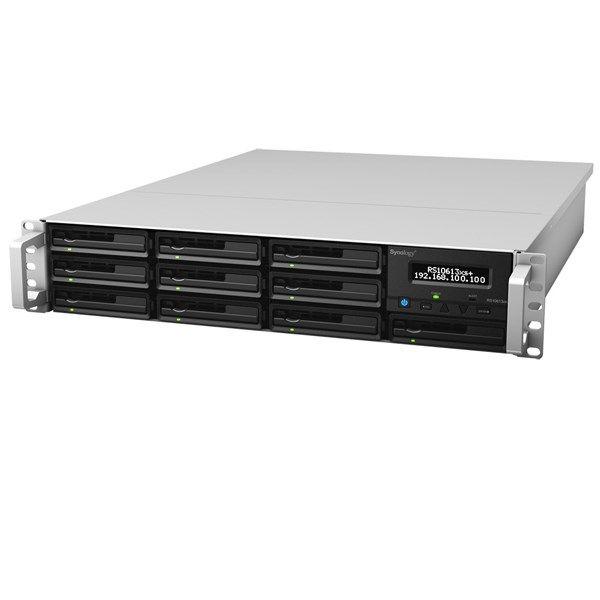 ذخیره ساز تحت شبکه 10Bay سینولوژی مدل رک استیشن +RS10613xs