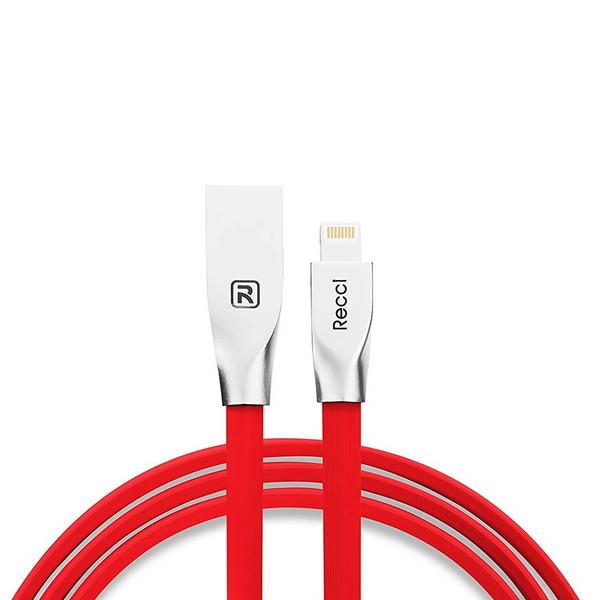 کابل تبدیل USB به  لایتینینگ رسی مدل RCL-B100 به طول 1 متر