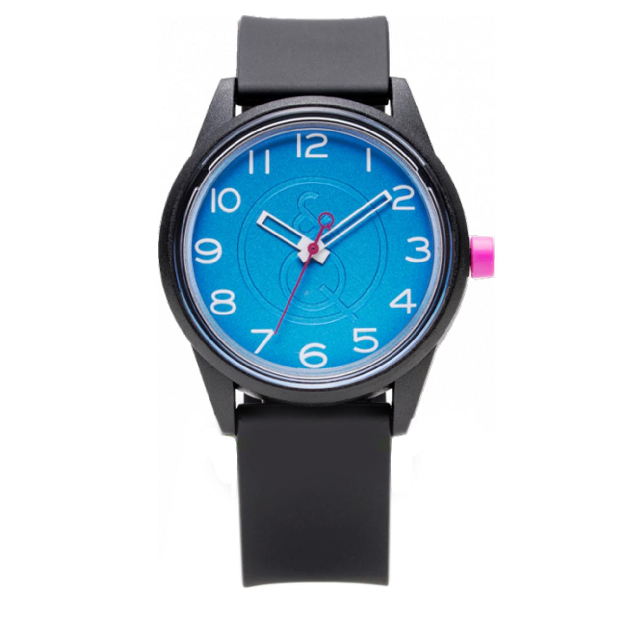 ساعت مچی عقربهای کیو اند کیو مدل سولار rp00j044y به همراه دستمال مخصوص برند کلین واچ
