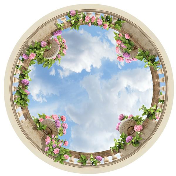 استیکر سقفی ژیوار طرح آسمان آبی