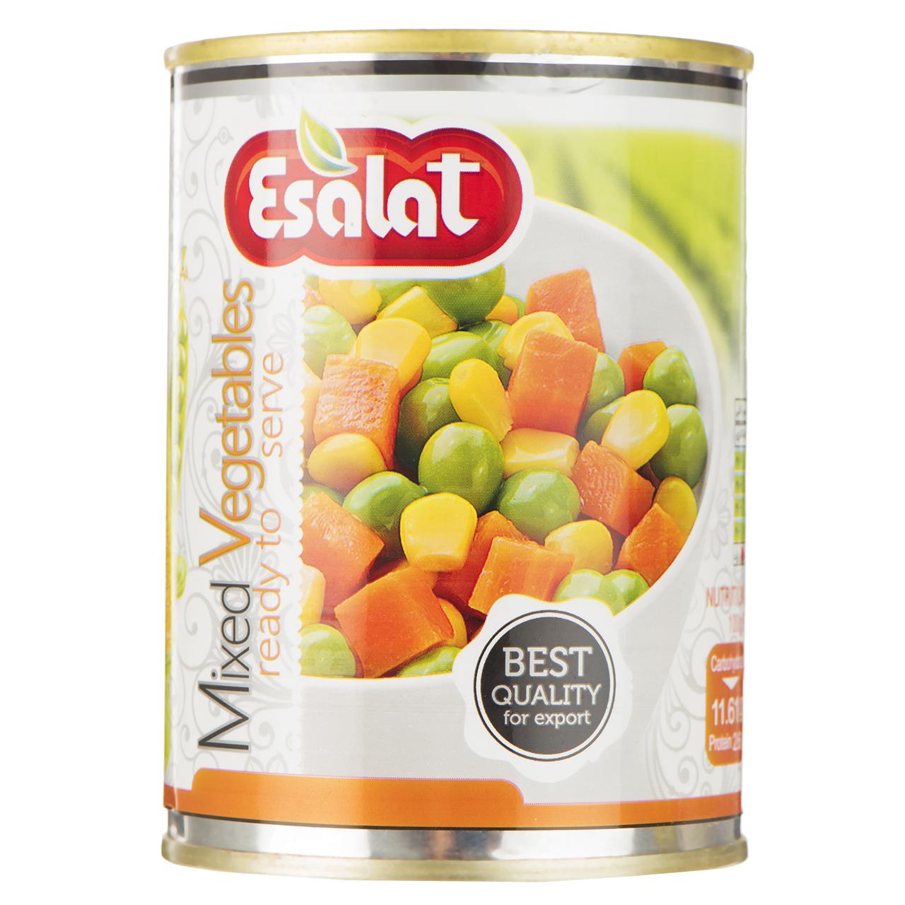 کنسرو سبزیجات اصالت - 380 گرم