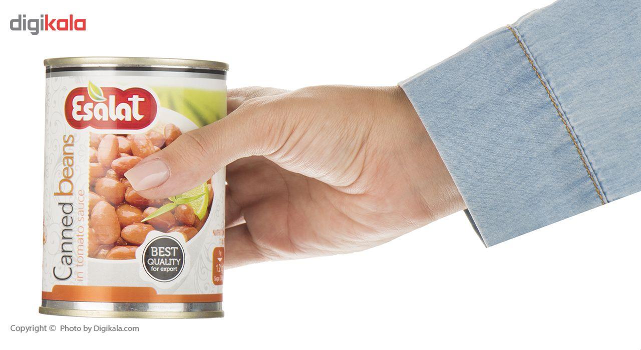 کنسرو لوبیا چیتی در سس گوجه فرنگی اصالت - 380 گرم main 1 5