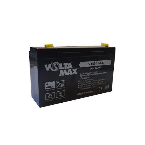 باتری 6 ولت 12 آمپر ولتامکس مدل 12A-6