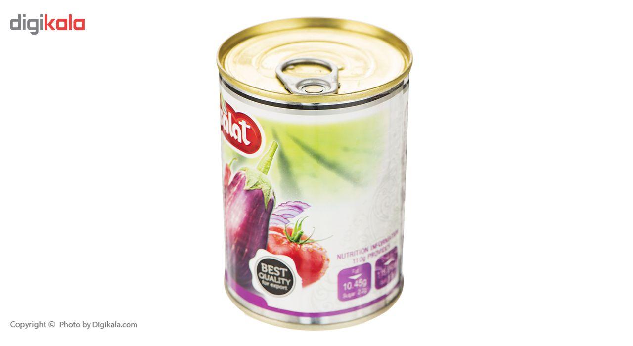 کنسرو خوراک بادمجان اصالت - 380 گرم main 1 5