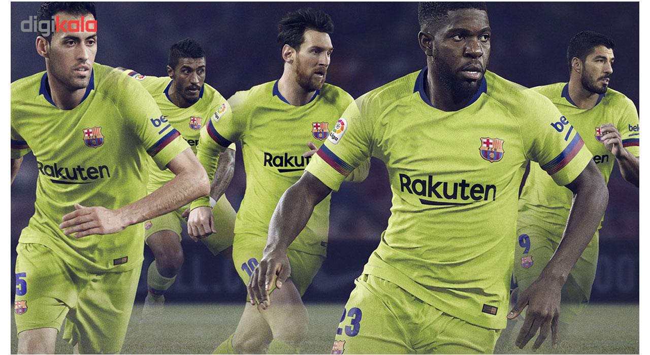 پیراهن تیم بارسلونا مدل 2019 away