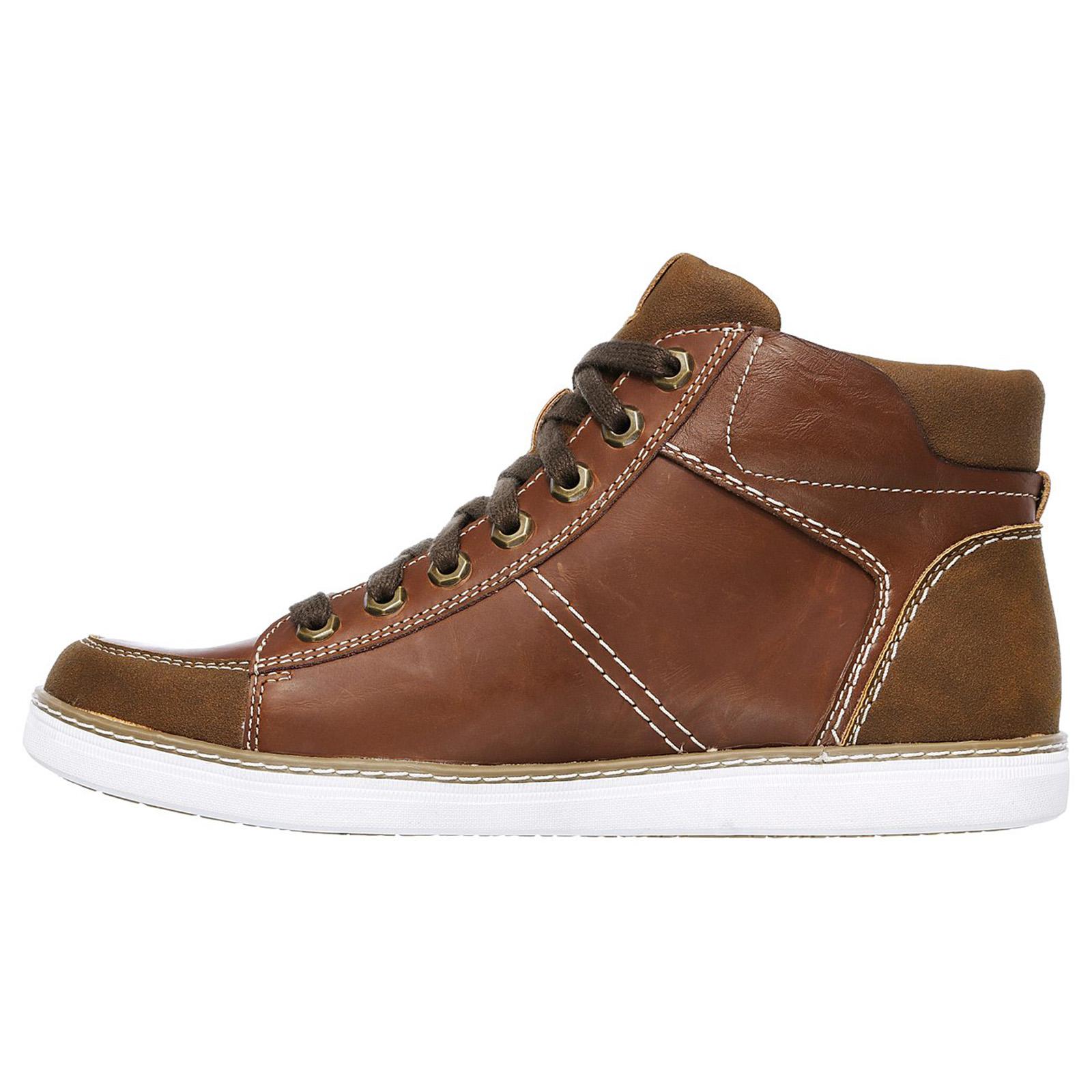 قیمت کفش مخصوص پیاده روی مردانه اسکچرز مدل Helmer granite 65062 TAN