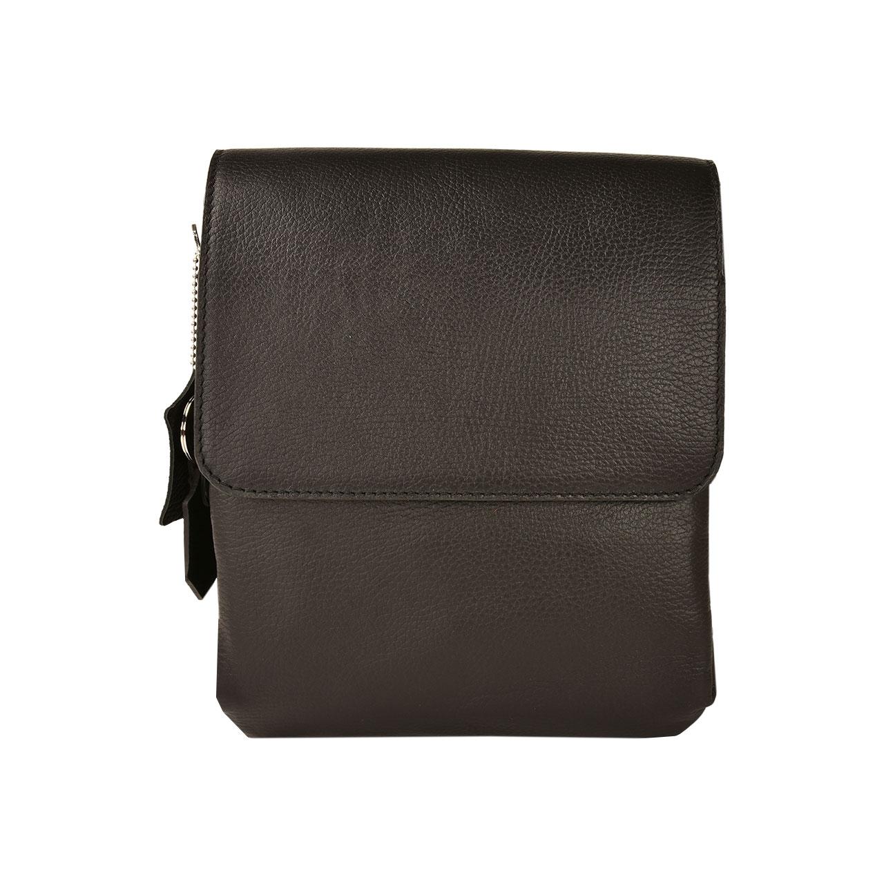 کیف دوشی چرم طبیعی کهن چرم مدل DB101