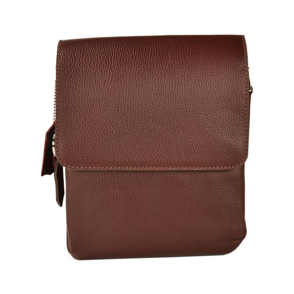 کیف دوشی چرم طبیعی کهن چرم مدل DB101-12