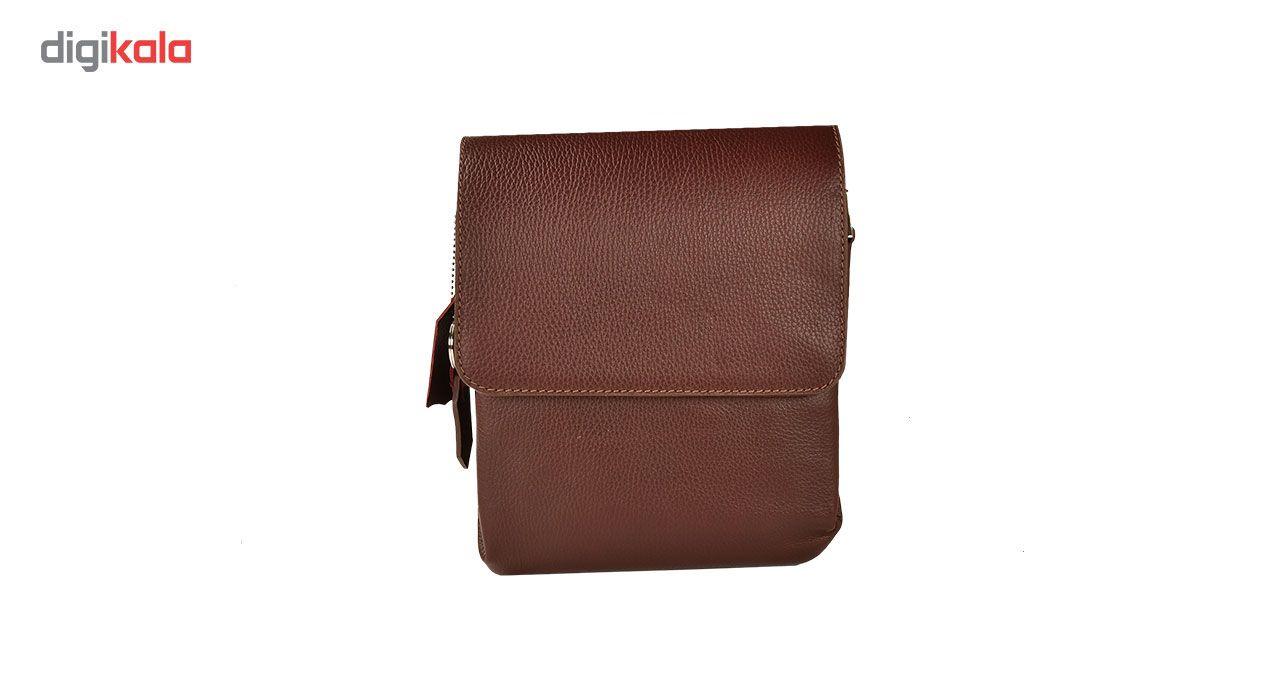 کیف دوشی چرم طبیعی کهن چرم مدل DB101-12 main 1 1
