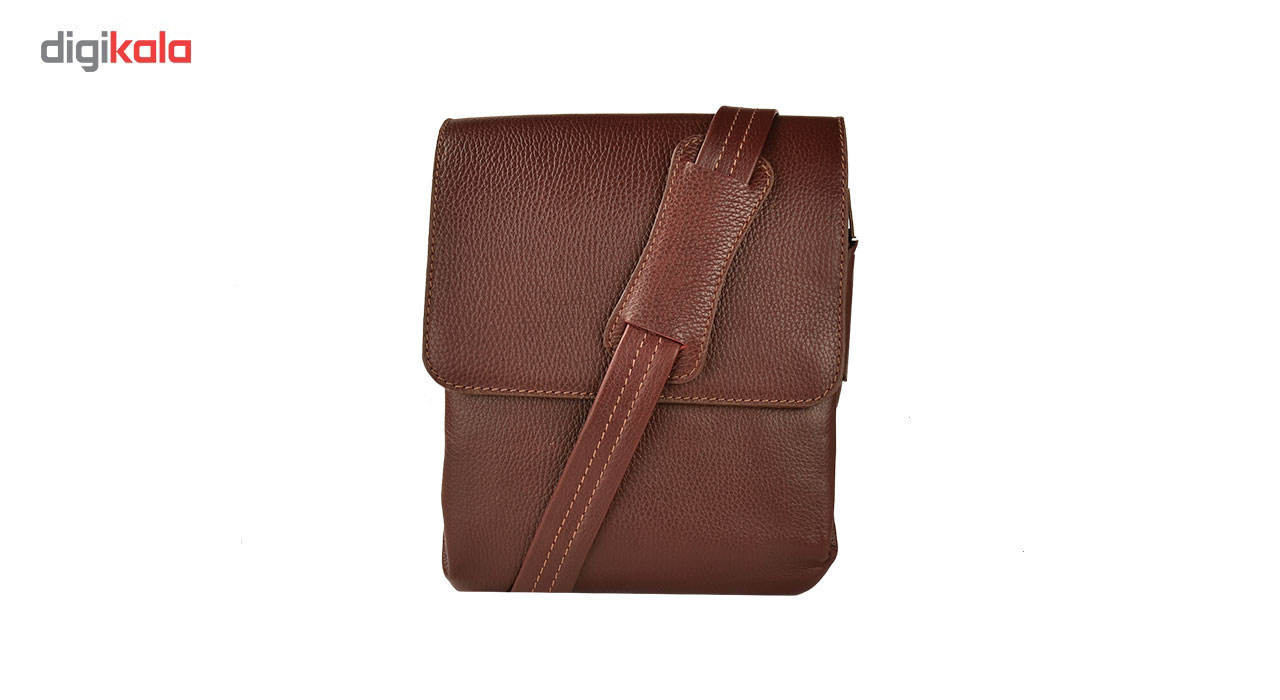 کیف دوشی چرم طبیعی کهن چرم مدل DB101-12 main 1 2