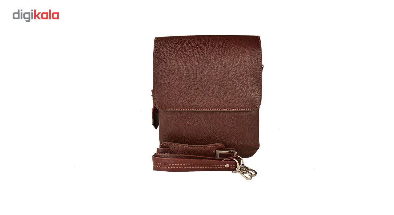کیف دوشی چرم طبیعی کهن چرم مدل DB101-12 main 1 3