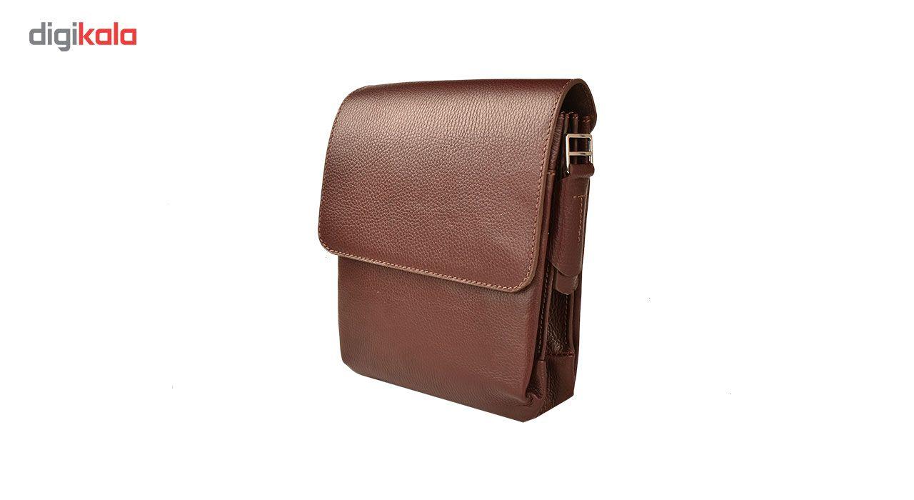 کیف دوشی چرم طبیعی کهن چرم مدل DB101-12 main 1 4