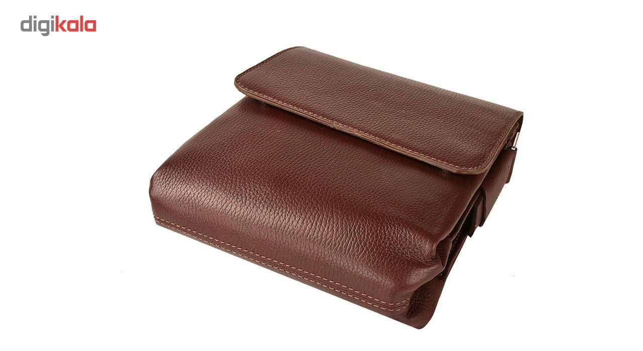 کیف دوشی چرم طبیعی کهن چرم مدل DB101-12 main 1 7