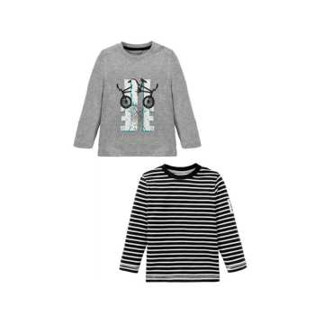 تی شرت آستین بلند پسرانه لوپیلو مدل Jan مجموعه دو عددی