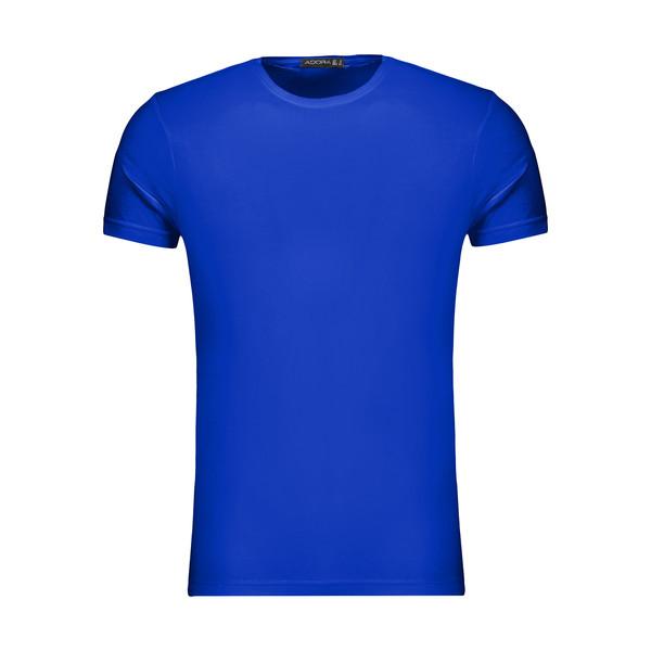تیشرت آستین کوتاه مردانه ادورا مدل 29915031 رنگ آبی