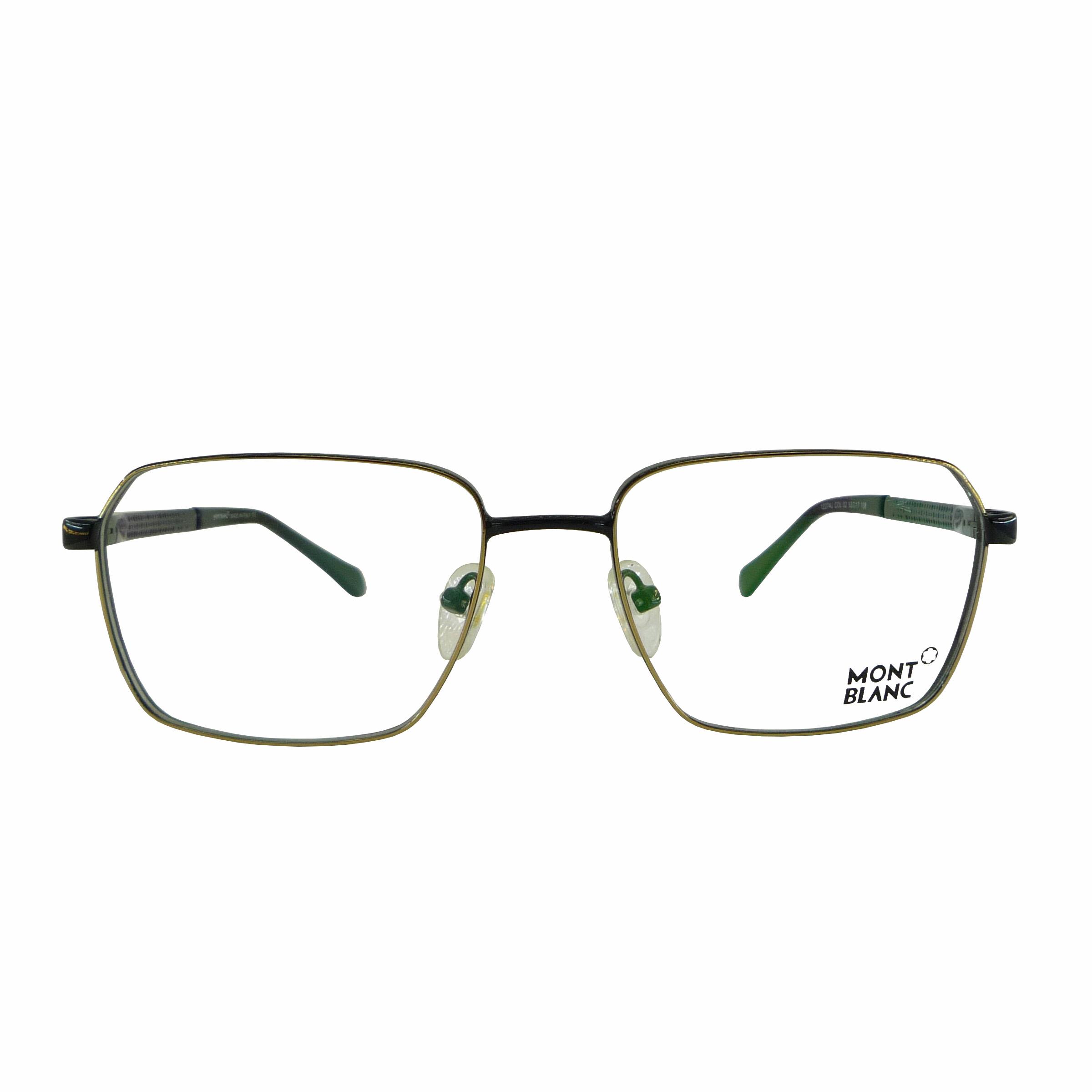 فریم عینک طبی مون بلان مدل T2171-12274JC2