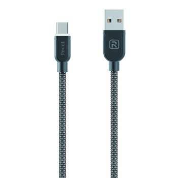 کابل تبدیل USB به Type-C رسی مدل RCT-T100 به طول 1 متر